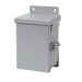 Hoffman Pentair A12R126HCR Solid Single Door Small Equipment Protection Enclosure; 16 Gauge Galvanized Steel, ANSI 61 Gray, Wall Mount, Hinged Cover