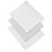 Hoffman A16P10 Panel; 14 Gauge Steel, White, For Junction Box/Enclosure