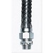 Hubbell Wiring 07406012 S-Tite Straight Insulated Liquidtight Connector; 1/2 Inch, Steel, Metallic, Male