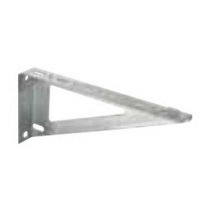 Hubbell Wiring HBTSS8 Fabricated Shelf Support 8 Inch  Steel  For Wire Basket Tray