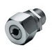 Hubbell Wiring SHC1038SS Kellems® Cordcon Cord Connector; 3/4 Inch MNPT, 0.750 - 0.880 Inch, Stainless Steel