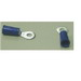 Ilsco 44211-B10 Vinyl Insulated Ring Terminal; 14-16 AWG, #6 Stud, High Strength Copper Alloy