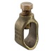 Ilsco GRC-68 Grounding Clamp; 3/4, 5/8 Inch Rod, 5/8 Inch Eebar, Seamless Bronze Tubing