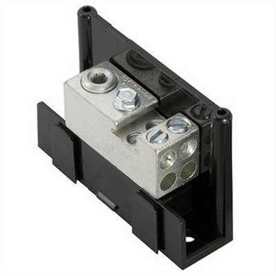 Ilsco PDA-14-2/0-1 Dual Rated Power Distribution Block; 600 Volt, 175 Amp
