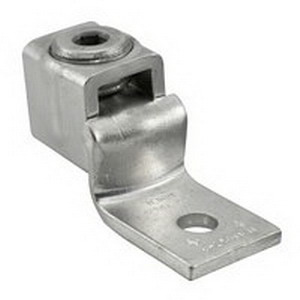 Ilsco SLUH-225 Mechanical Lug Connector; 5/16 Inch Bolt Size, 250 KCMIL - 6 AWG, 1 Hole Mount, Electrolytic Copper Tubing and Strip Stock