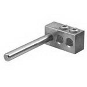 Ilsco PTT-2R-0-Z Multi Tap Adaptor Lug; 14-1/0 AWG, 2 Ports, 2000 Volt (UL Listed), 6061-T6 Aluminum