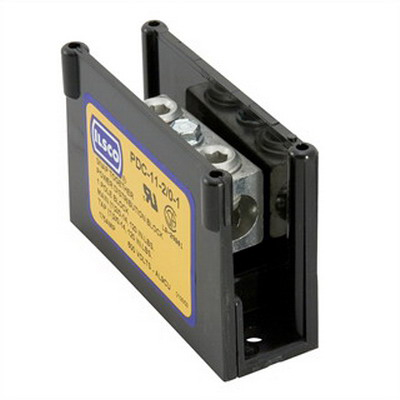 Ilsco PDC-11-2/0-1 Dual Rated Power Distribution Block; 600 Volt, 175 Amp