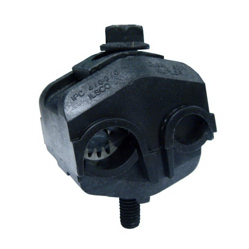 Ilsco IPC-4/0-2/0 Multi-Cable Piercing Connector; 4/0-2 AWG, 300 Volt, Black