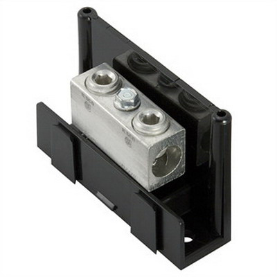 Ilsco PDA-11-2/0-1 Dual Rated Power Distribution Snap Block; 600 Volt, 175 Amp