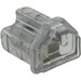 Ilsco PCT-2-4/0 Cleartap® Multi Tap Two Sided Connector; 6-4/0 AWG, 2 Ports, 600 Volt, Clear