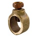 Ilsco CGRC-68 Grounding Clamp; 3/4 Inch Rod, 3/4 Inch Rebar, Cast Bronze, Stainless Steel Hardware