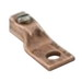 Ilsco LO-4 Straight Mechanical Lug Connector; 14-4 AWG, Electrolytic Seamless Copper Tubing