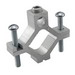 Ilsco AGC-4 Dual Rated Grounding Clamp; 2-1/2 - 4 Inch Pipe, 6061-T6 Aluminum Alloy