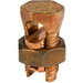 Ilsco IK-2/0 Split Bolt Connector; 2 AWG Solid-2/0 AWG Stranded, 2000 Volt, Copper Alloy