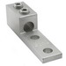 Ilsco TA-350-2N Mechanical Lug Connector; 1/2 Inch Bolt Size, 6 AWG - 350 KCMIL, 2 Hole Mount, 6061-T6 Aluminum Alloy, Electro Tin-Plated