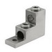 Ilsco PB2-300 Dual Rated Panel Board Stack Mechanical Lug Connector; 6 AWG - 300 KCMIL, 6061-T6 Aluminum Alloy, Electro Tin-Plated