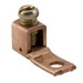 Ilsco XT-6 Mechanical Lug Connector; #10 Bolt Size, 18-6 AWG, Electrolytic Copper Tubing and Strip Stock