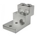 Ilsco PB3-600 Mechanical Panel Board Stack Lug Connector; 2 AWG - 600 KCMIL, 6 Hole Mount, 6061-T6 Aluminum Alloy, Electro Tin-Plated