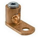 Ilsco CP-4 Slot Screw Mechanical Lug Connector; 1/4 Inch Bolt Size, 14-4 AWG, Copper Alloy