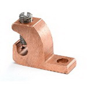 Blackburn / Elastimold CULL4-14 Lay-In Grounding Lug; 14-4 AWG, Copper