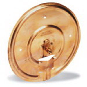 Blackburn / Elastimold GP100 GP Series Ground Plate; 2 AWG Solid-8 AWG Stranded, Electrolytic Sheet Copper