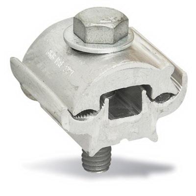 Blackburn / Elastimold PAE2121-9 Parallel Groove Clamp; 6-2/0 AWG, Aluminum, Galvanized Steel