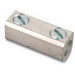 Blackburn / Elastimold ASR0214 Alcul™ ASR Series Non-Insulated Splice Reducer With Solid Barrier Wire Stop; 14-2 AWG Stranded Aluminum/Copper