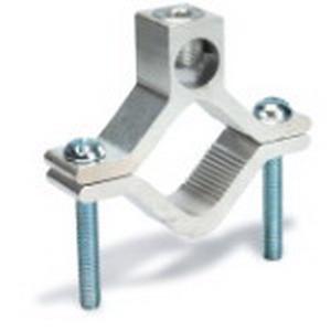 Blackburn / Elastimold AJ-2124 Water pipe Grounding Clamp; 2-1/2 - 4 Inch Pipe, Aluminum, Tin-Plated