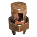 Blackburn / Elastimold 4H Split Bolt Connector; 8 AWG Solid-4 AWG Stranded, Bronze Alloy