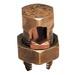 Blackburn / Elastimold 10H Split Bolt Connector; 4 AWG Solid-1/0 AWG Stranded, Bronze Alloy