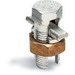Blackburn / Elastimold 2HPS Plated Split Bolt Connectors With Spacer; 8-2 AWG Solid, 8-4 AWG ACSR, Copper Alloy