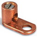 Blackburn / Elastimold L70 Type L Slot Screw Mechanical Lug Connector; 14 AWG Solid-4 AWG Stranded, 1 Hole Mount, Copper