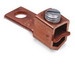 Blackburn / Elastimold STC1102 STC Straight Tang Mechanical Lug Connector; 2-1/0 Stranded AWG, 1 Hole Mount, Electrolytic Seamless Copper, Steel Screw, Zinc-Plated Screw