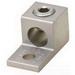 Blackburn / Elastimold ADR21 ALCUL Slot Screw Mechanical Lug Connector; 14 AWG - 2/0 AWG Stranded, 1 Hole Mount, Aluminum, Tin-Plated