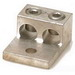 Blackburn / Elastimold ADR11-21 ALCUL Mechanical Lug Connector; 14 AWG - 1/0 AWG Stranded, 1 Hole Mount, Aluminum, Tin-Plated