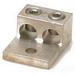 Blackburn / Elastimold ADR25-21 ALCUL Mechanical Lug Connector; 6 AWG Stranded - 250 KCMIL, 1 Hole Mount, Aluminum, Tin-Plated