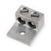 Blackburn / Elastimold ADR60-21 ALCUL Mechanical Lug Connector; 2 AWG Stranded - 600 KCMIL, 1 Hole Mount, Aluminum, Tin-Plated