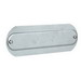Hubbell Electrical / Killark OL-780 K-Pack® Replacement Cover; 2-1/2 Inch, Aluminum, Silver