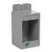 Hubbell Electrical / Killark FDS-2 Cast Device Box; 2-7/8 Inch Depth, Copper-Free Aluminum, 8.5 Cubic-Inch, 3/4 Inch Hub