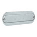 Hubbell Electrical / Killark OL-10 K-Pack® Replacement Cover; 1/2 Inch, Aluminum, Silver