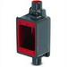 Korns PRFDC1 Plasti-Bond Redh2ot® Deep Through-Feed 1-Gang Box; 1.920 Inch Depth, Ferrous, Gray/Red, 1/2 Inch Hub