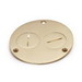 Lew 523-DP Duplex Cover; Brass