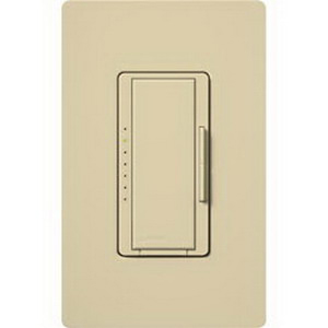 Lutron MRF2-6CL-IV Maestro Wireless Remote Lighting Control Dimmer 120 Volt AC  Ivory Color Gloss Finish  Wall Box Mount