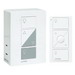 Lutron P-PKG1P-WH Caseta™ Wireless Dimmer Kit; 120 Volt, White Color