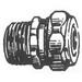 Madison MCG-75A650 Cord Grip; 3/4 Inch, Steel, Zinc-Plated