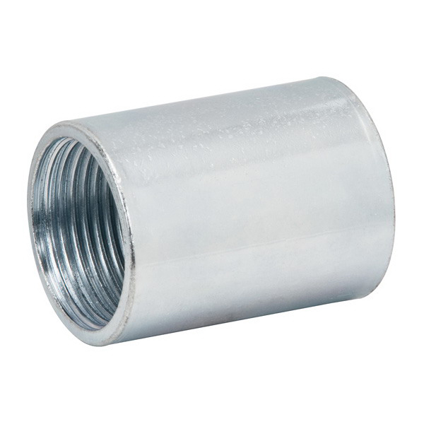 Madison RC-50 Rigid Coupling; 1/2 Inch, FNPT, Galvanized Steel