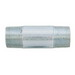 Madison N-50-CL Rigid Conduit Nipples; 1/2 Inch, Close Length, Threaded, Galvanized Steel