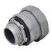 Madison LQA-1050-I Straight Liquidtight Box Connector With Insulated Throat; 1/2 Inch, Die-Cast Zinc, Threaded x Compression