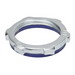 Madison LNS-150-I Sealing Locknuts With Gasket; 1-1/2 Inch, Steel Locknut With PVC Molded Gasket