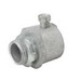 Madison MSNT-2751-B Rigid Set-Screw Box Connector With Insulated Throat; 3/4 Inch Threaded, Malleable Iron